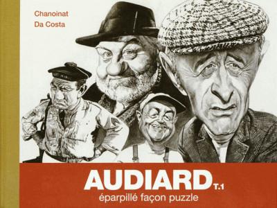 Couverture Audiard tome 1 - éparpillé facon puzzle