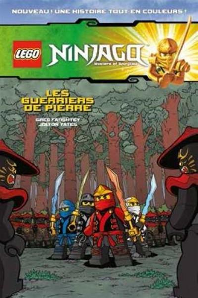 Couverture Lego Ninjago BD tome 4