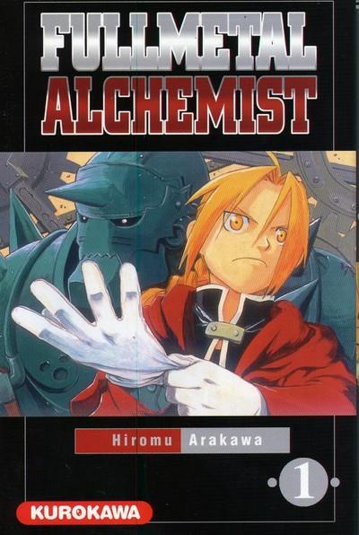 Couverture fullmetal alchemist tome 1