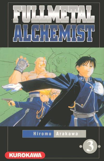 Couverture fullmetal alchemist tome 3