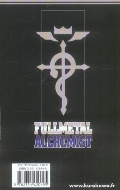 Dos fullmetal alchemist tome 3