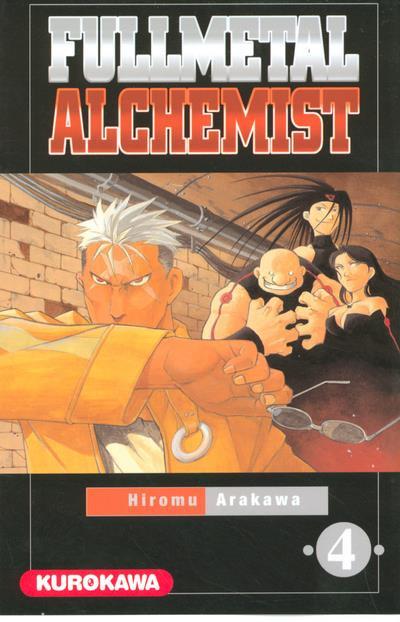 Couverture fullmetal alchemist tome 4