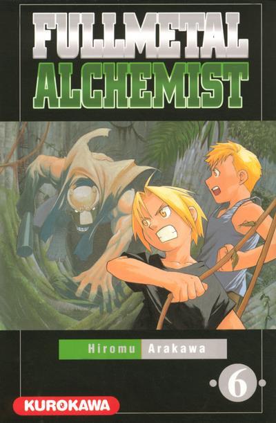 Couverture fullmetal alchemist tome 6