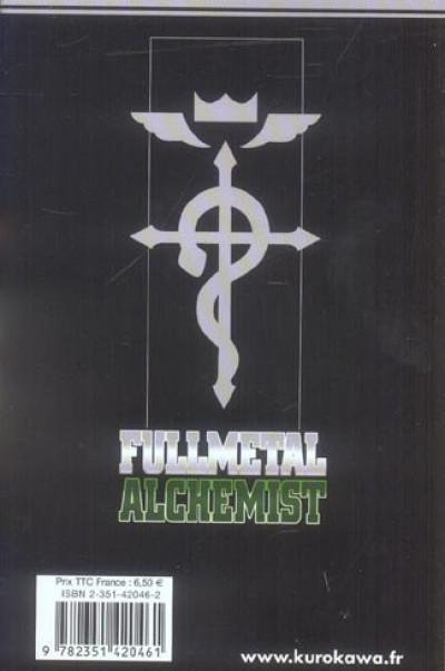 Dos fullmetal alchemist tome 6