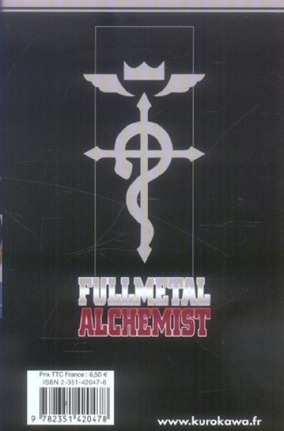 Dos fullmetal alchemist tome 7