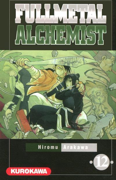 Couverture fullmetal alchemist tome 12