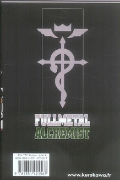Dos fullmetal alchemist tome 12