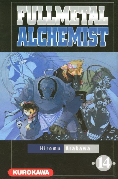 Couverture fullmetal alchemist tome 14