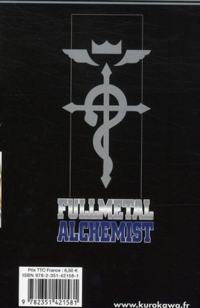 Dos fullmetal alchemist tome 14
