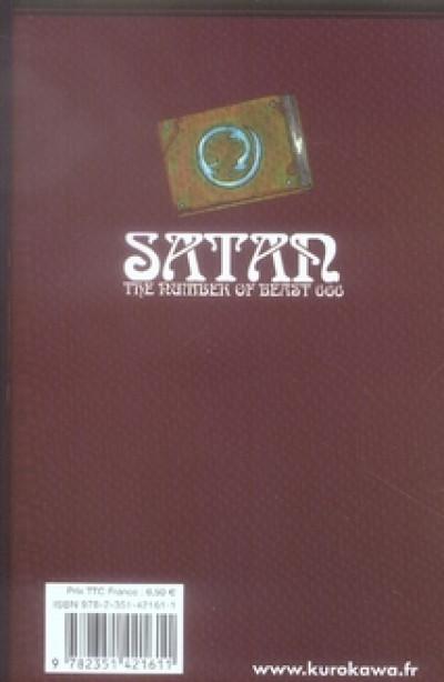 Dos satan 666 tome 11