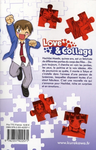Dos love & collage tome 1