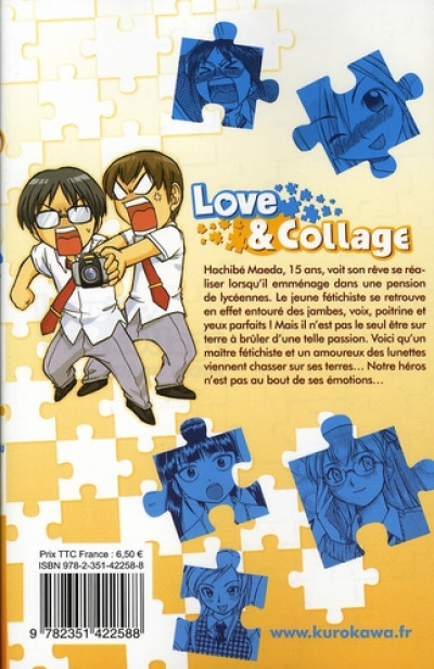Dos love & collage tome 2