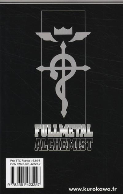 Dos fullmetal alchemist tome 18