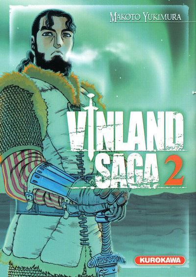 Couverture vinland saga tome 2