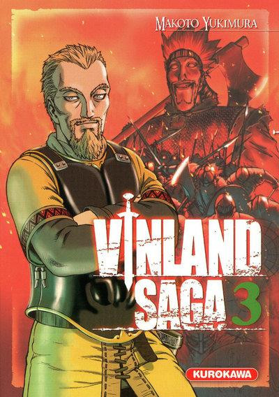 Couverture vinland saga tome 3