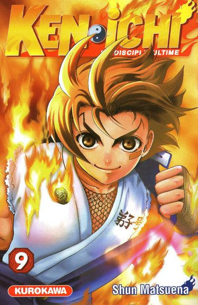 Couverture ken-ichi tome 9