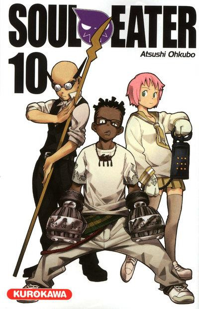 Couverture soul eater tome 10