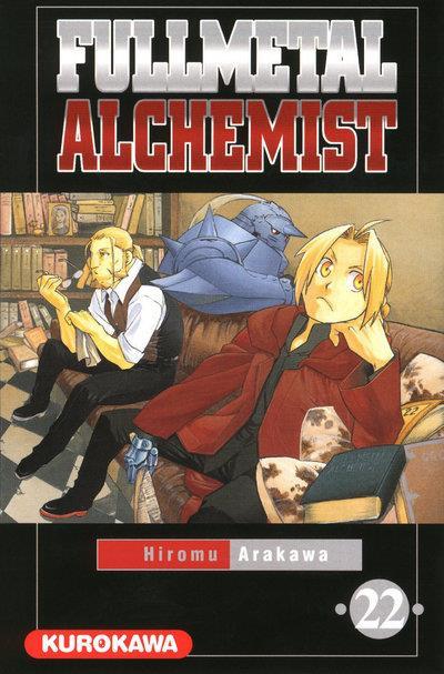 Couverture fullmetal alchemist tome 22