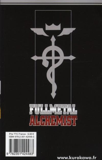 Dos fullmetal alchemist tome 22