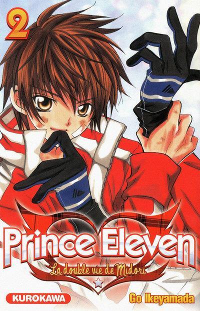 Couverture prince eleven tome 2