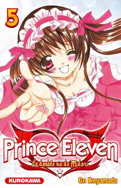 Couverture prince eleven tome 5