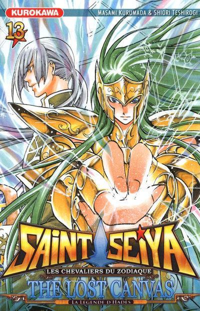 Couverture Saint Seiya - the lost Canvas - la légende d'Hades tome 13