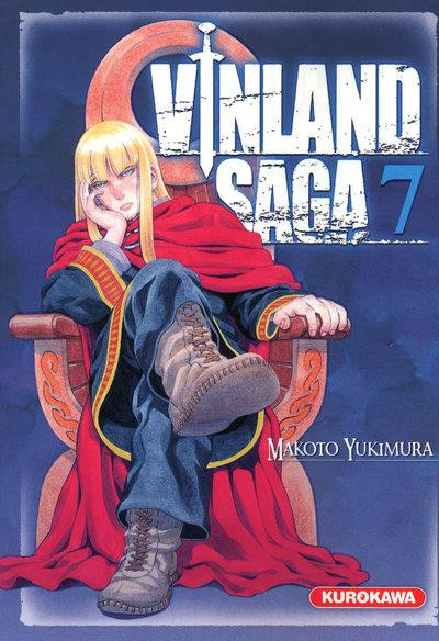 Couverture vinland saga tome 7