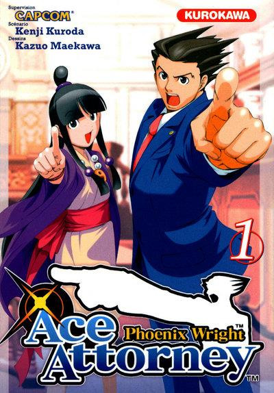Couverture Ace Attorney - Phoenix Wright tome 1