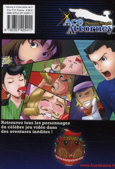 Dos ace attorney - Phoenix Wright tome 4