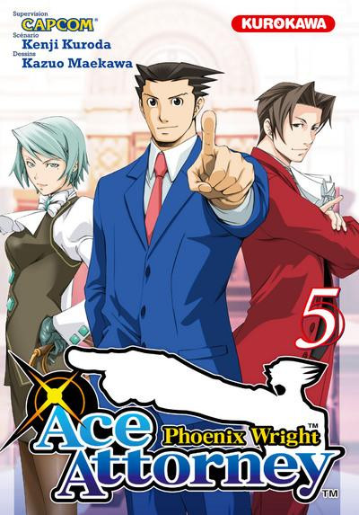 Couverture Ace Attorney - Phoenix Wright tome 5