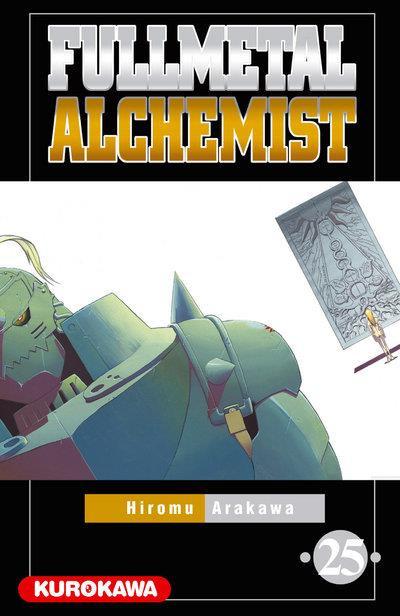 Couverture fullmetal alchemist tome 25