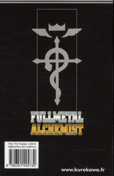 Dos fullmetal alchemist tome 25