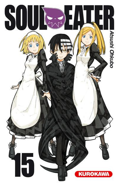 Couverture soul eater tome 15