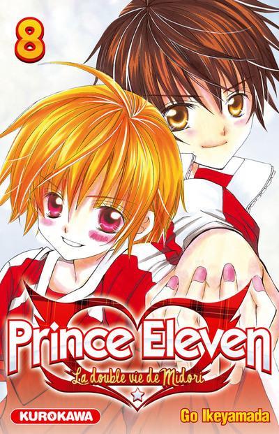 Couverture prince eleven tome 8