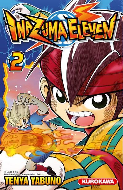 Couverture Inazuma eleven tome 2