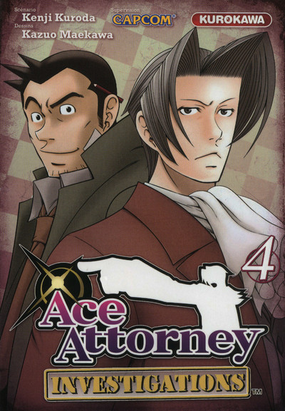 Couverture Ace attorney - investigations tome 4