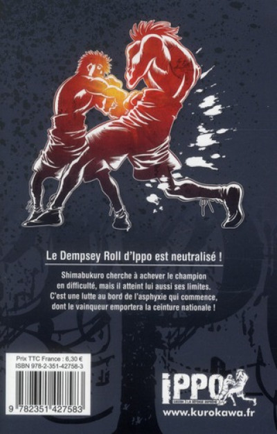 Dos Ippo saison 3 tome 3