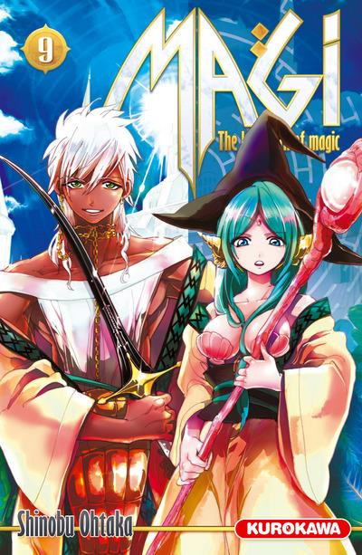 Couverture magi tome 9 - the labyrinth of magic