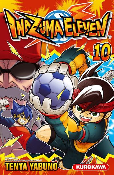 Couverture Inazuma eleven tome 10