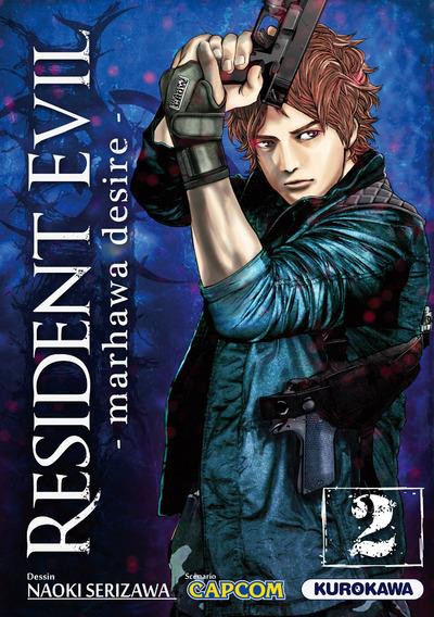 Couverture Resident evil tome 2 - Marhawa desire