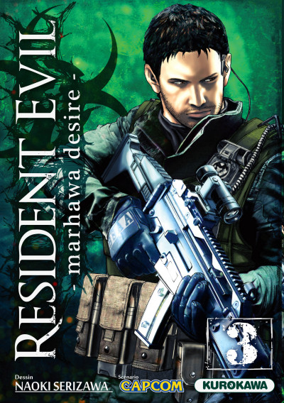 Couverture Resident evil tome 3 - Marhawa desire