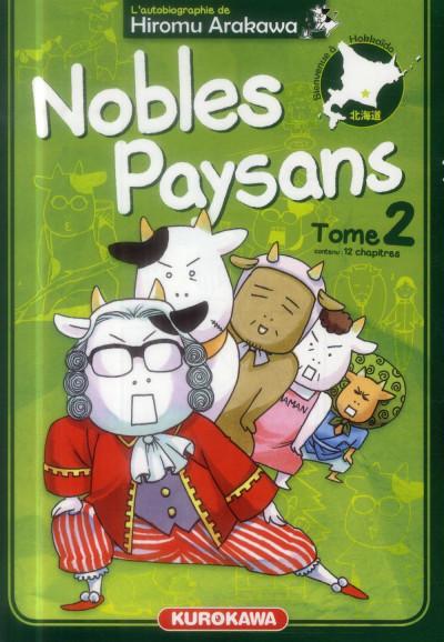 Couverture Nobles Paysans tome 2