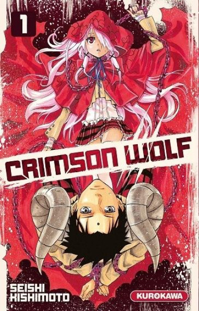 Couverture crimson wolf tome 1