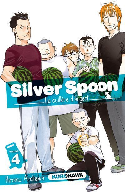 Couverture Silver spoon - la cuillère d'argent tome 4
