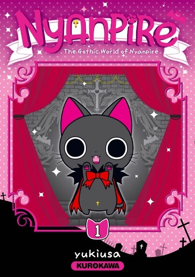 Couverture Nyanpire tome 1
