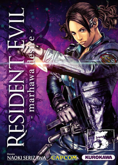 Couverture Resident evil tome 5 - Marhawa desire