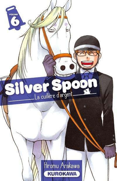 Couverture Silver spoon - la cuillère d'argent tome 6