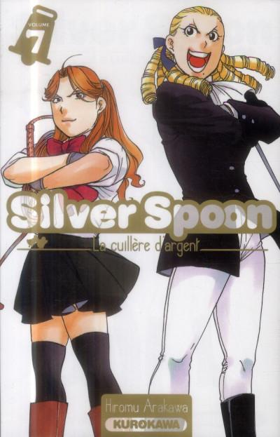 Couverture Silver spoon - la cuillère d'argent tome 7