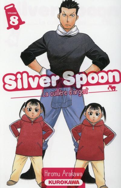 Couverture Silver Spoon - la cuillère d'argent tome 8