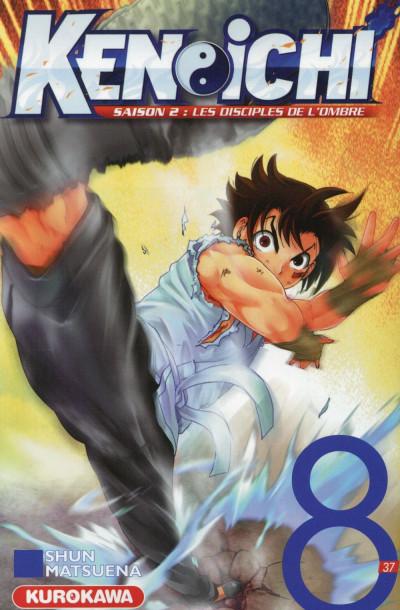 Couverture Ken-Ichi Saison 2 tome 8